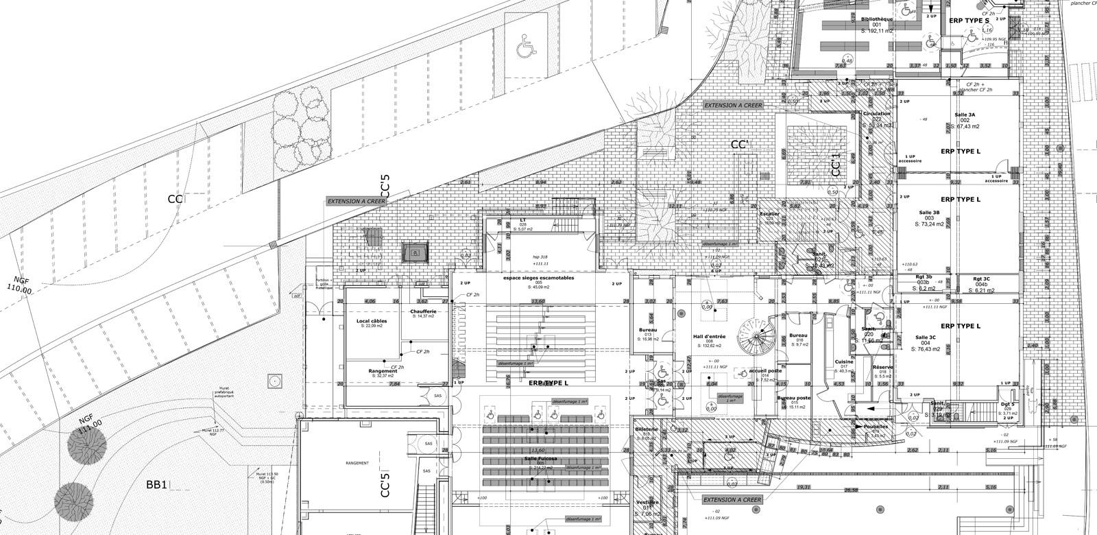 Architecture du projet benoist for Projet de plan